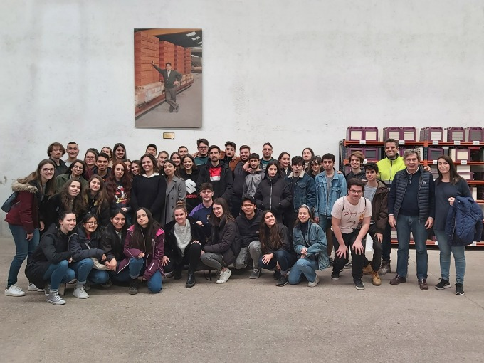Visita de estudiantes de arquitectura a nuestra fábrica