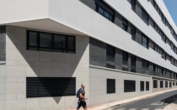 El resurgir de un edificio en un barrio antiguo de Madrid