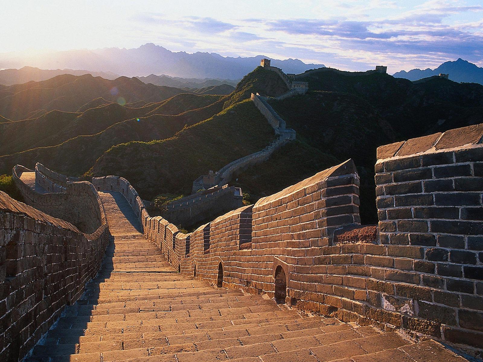 El ladrillo en el tiempo - Gran Muralla, China