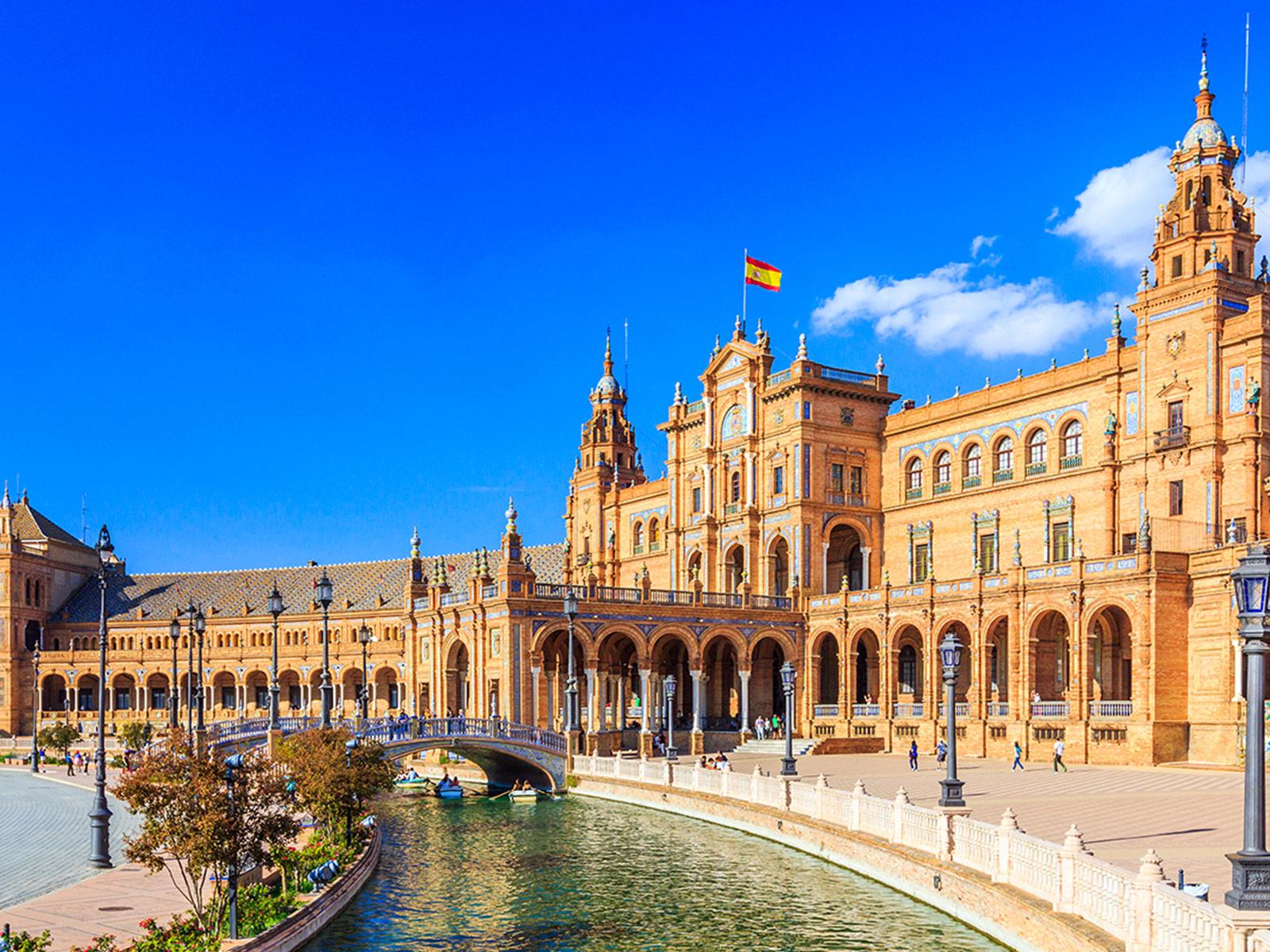 El ladrillo en el tiempo - Plaza de España, Sevilla