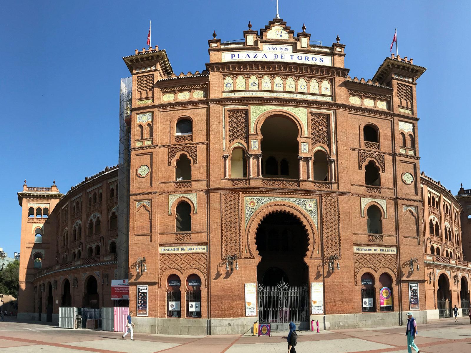 El ladrillo en el tiempo - Plaza de Toros de Las Ventas, Madrid